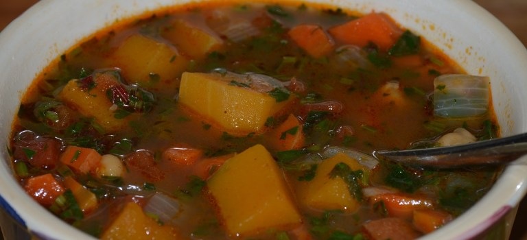 Time for Fall Soups…This One's Perfect for Fall CSA Veggies!
