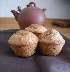 Muffins fraises et noix 1