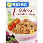 quinoa tomates olives