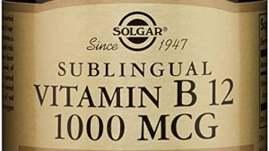 Comprimés de vitamine B12 de Solgar