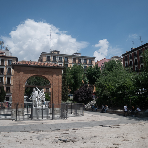 Place du 2 mai à Madrid