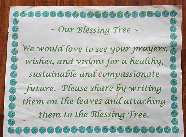 Blessing Tree instructions
