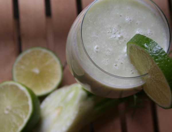 Grüner Power-Smoothie