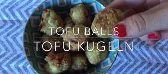 Tofu Kugeln Balls Klöschen