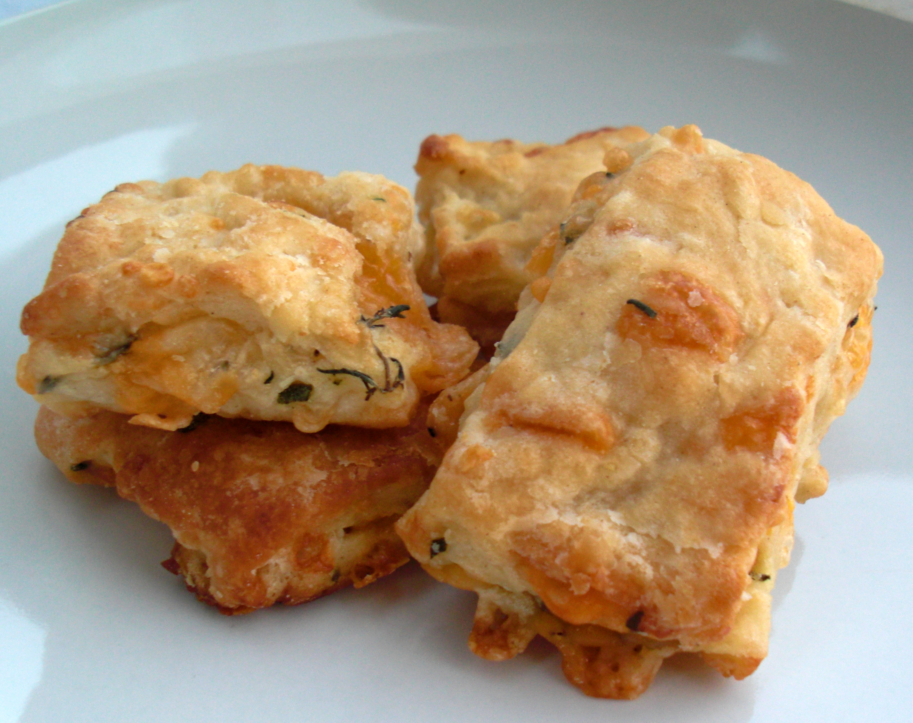 cheese and herb rolls