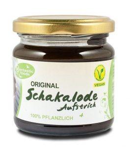 Veganes-Nutella-Vantastic-Foods-Original-Schakalode-Aufstrich-Schokolade-Brotaufstrich-vegan