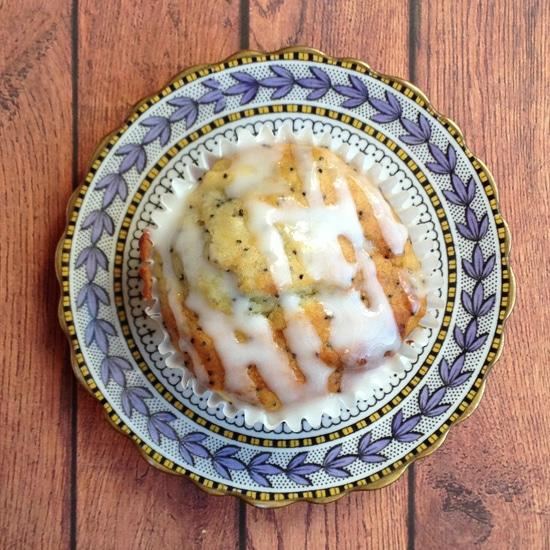 Parsnip Lemon Poppy Seed Muffin