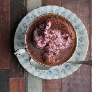 Red Velvet Beet Hot Chocolate