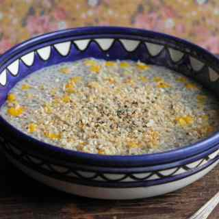 Chia Che Bap - Vietnamese Coconut and Corn Pudding