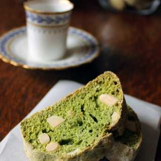 Kale and Almond Biscotti