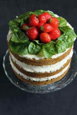 Spinach Coconut Yogurt Cake   Veggie Desserts
