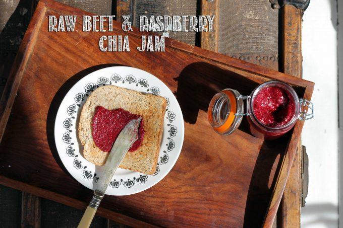 Beet Raspberry Chia Jam   Veggie Desserts