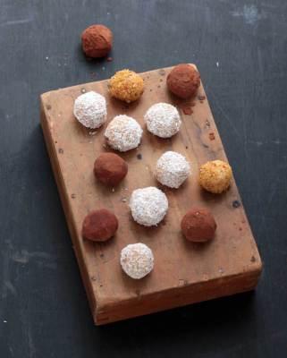 Sweet Potato and Fresh Ginger Protein Balls | Veggie Desserts
