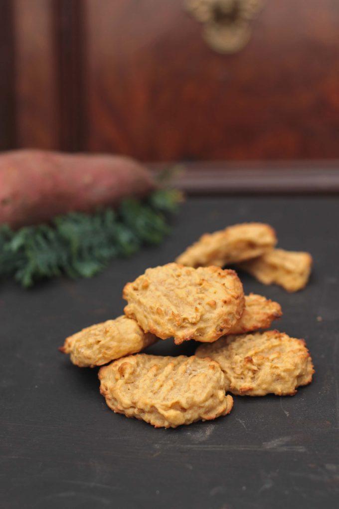 Sweet Potato and Ginger Cookies   Veggie Desserts