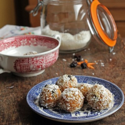Carrot Cake Protein Balls   Veggie Desserts Blog