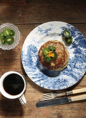 Zesty Orange Chia Pancakes | Veggie Desserts Blog
