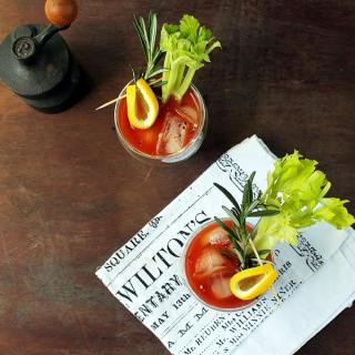 Wake Up Mary - An Alcohol-Free Coffee Bloody Mary | Vegan | VeggieDesserts Blog