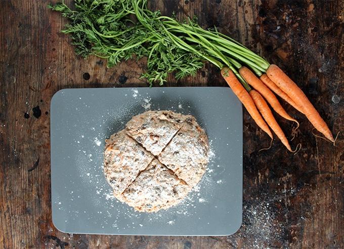 Cinnamon Carrot Soda Bread | Veggie Desserts Blog