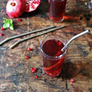 Cranberry Pomegranate Cosmopolitan Cocktail Recipe | Veggie Desserts Blog