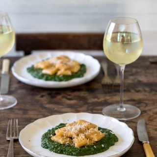 Easy Sweet Potato Gnocchi with Spinach Sauce | Veggie Desserts