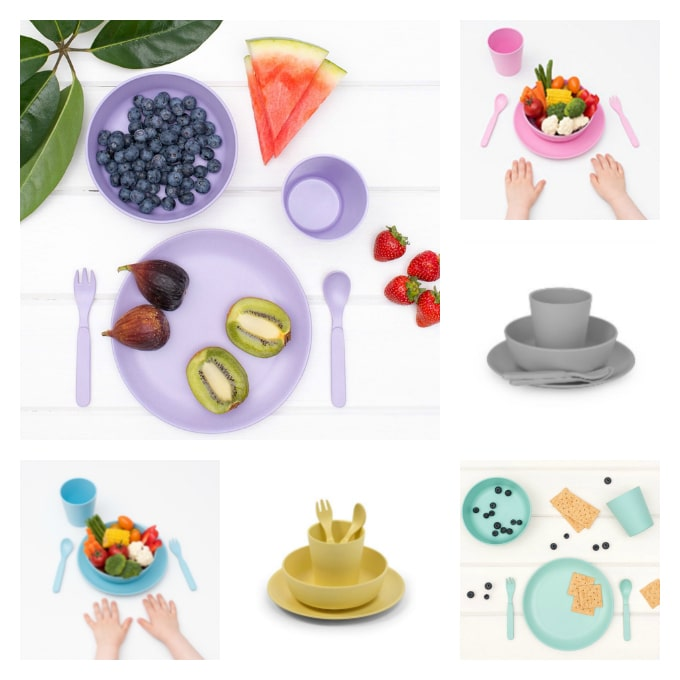Win 2 x bamboo dinner sets for kids