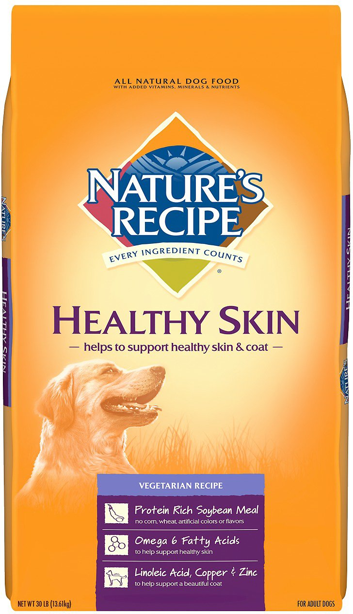 Is Natures Recipe Dog Food Vegan