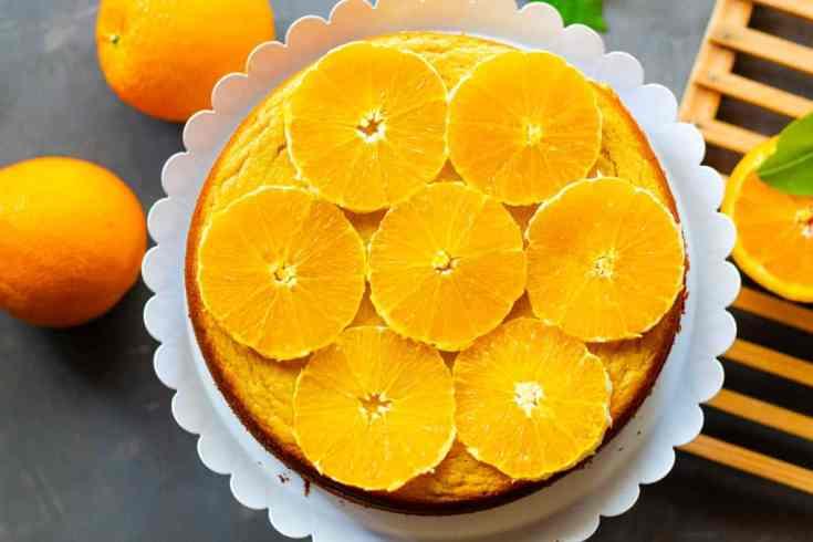 Almond Orange Cake (Gluten-free, Flourless, Paleo)