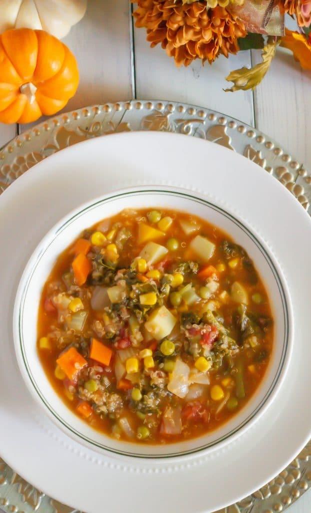 Cozy Fall Instant Pot Vegetable Soup