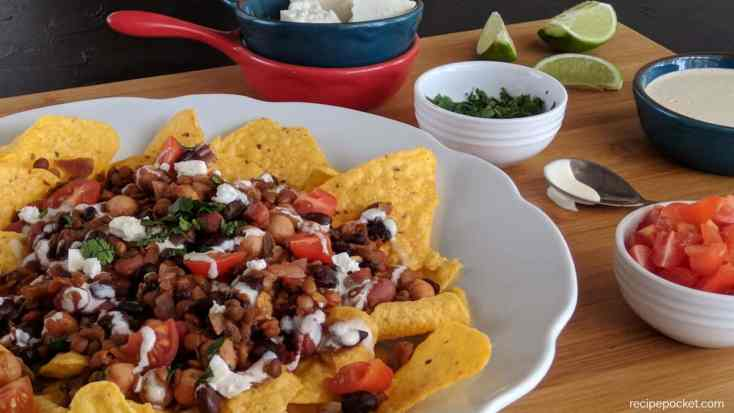 Easy Vegetarian Nachos Recipe For The Slow Cooker