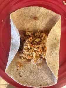 Edges Folded Burrito