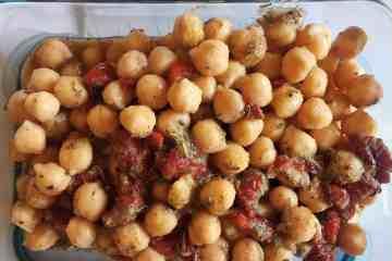 Italian Marinated Chickpeas