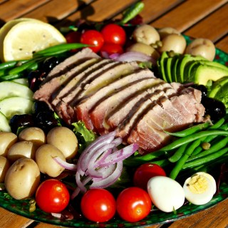 Deconstructed Tuna Nicoise