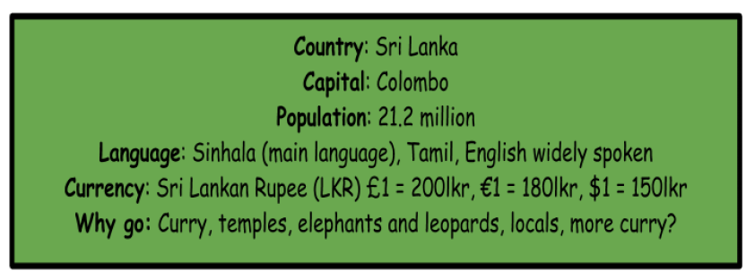 The Ultimate Travel Guide to Sri Lanka