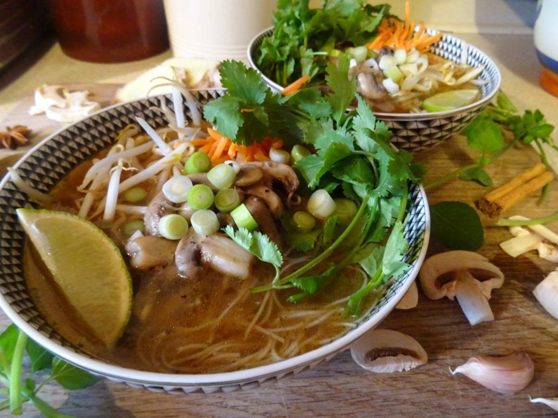 Vegan Vietnamese Pho Recipe
