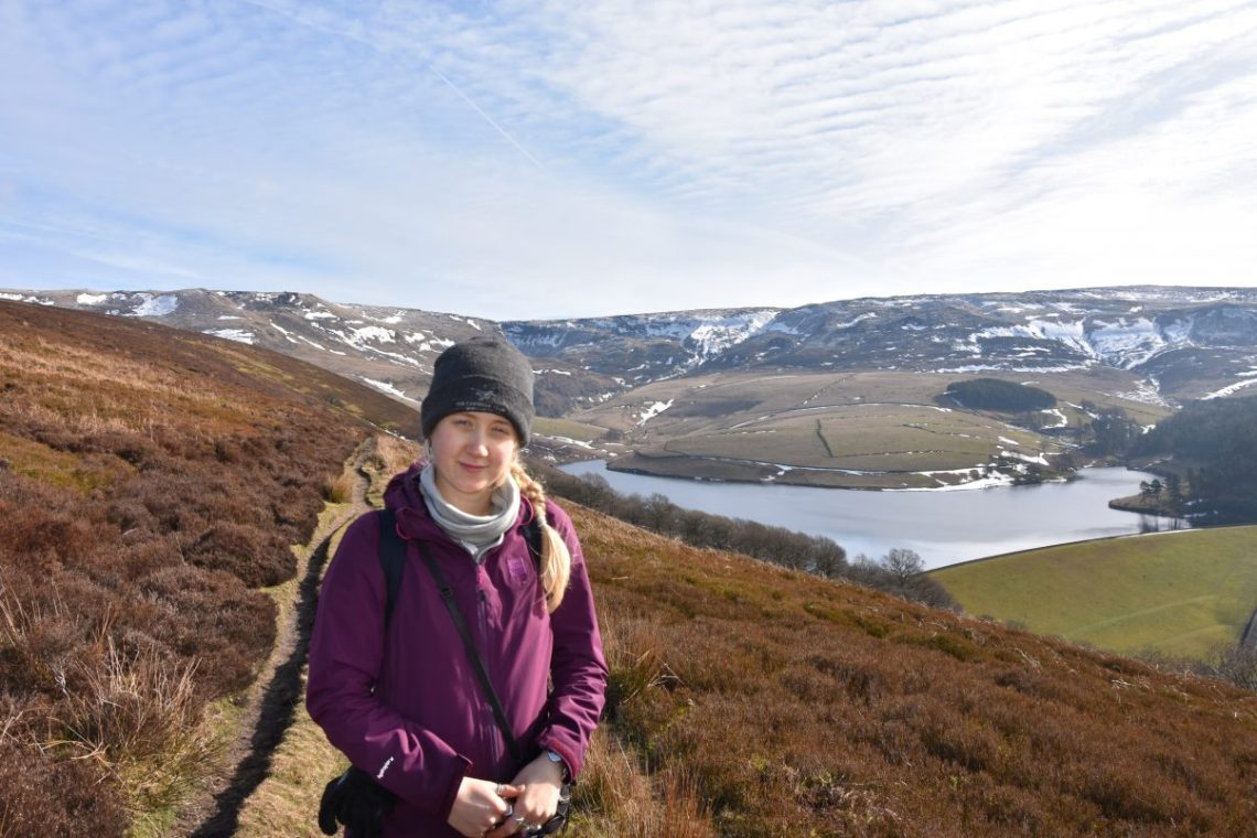 Following Footprints in the Snow - A Winter Hiking Holiday in the Peak District