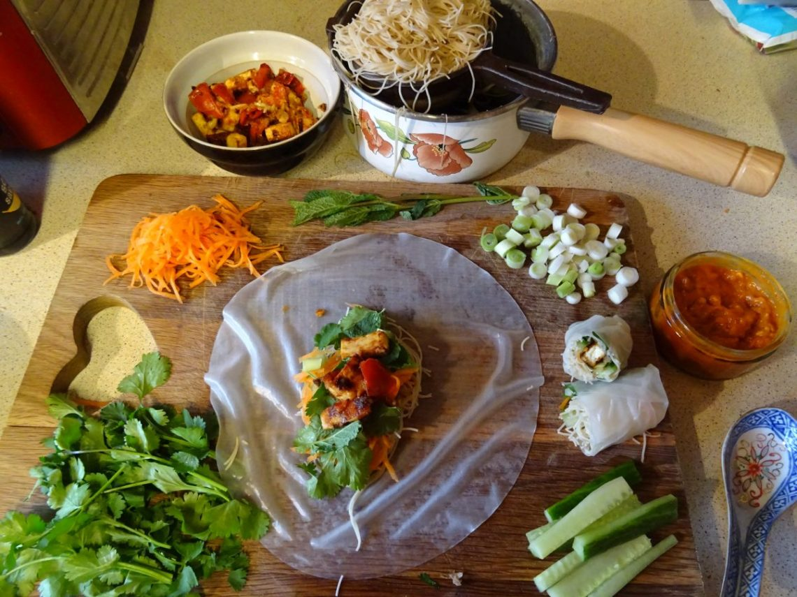 Vegan Vietnamese Summer Rolls