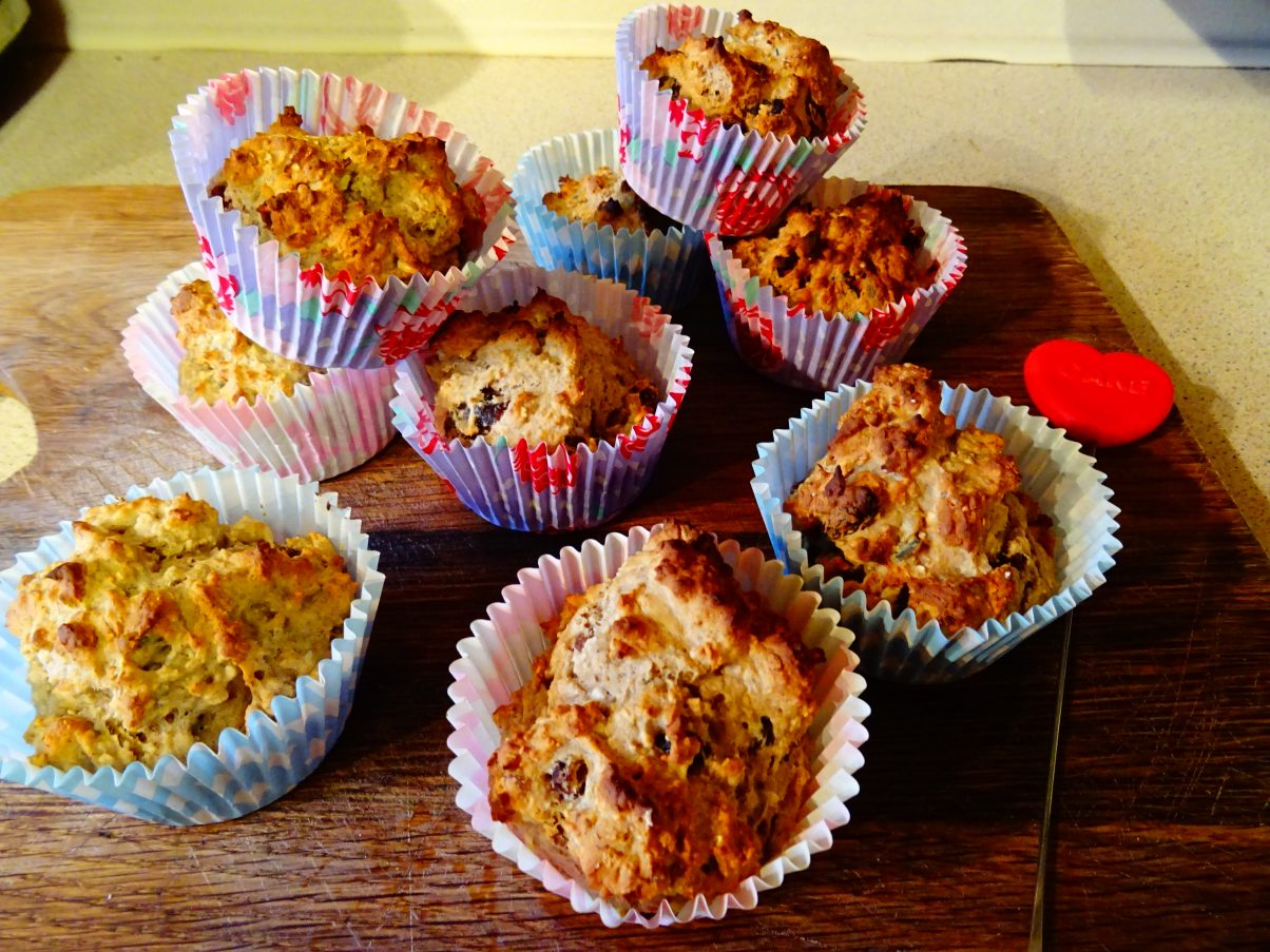 Vegan Breakfast Banana Muffins Recipe