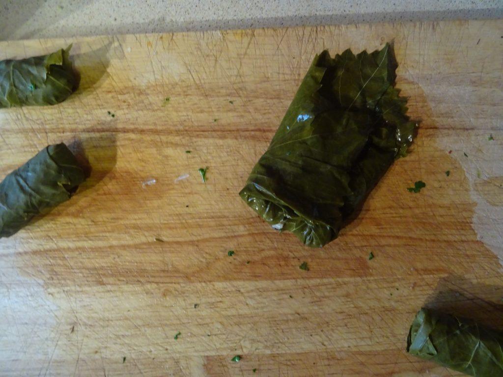 Vegan Stuffed Vine Leaves