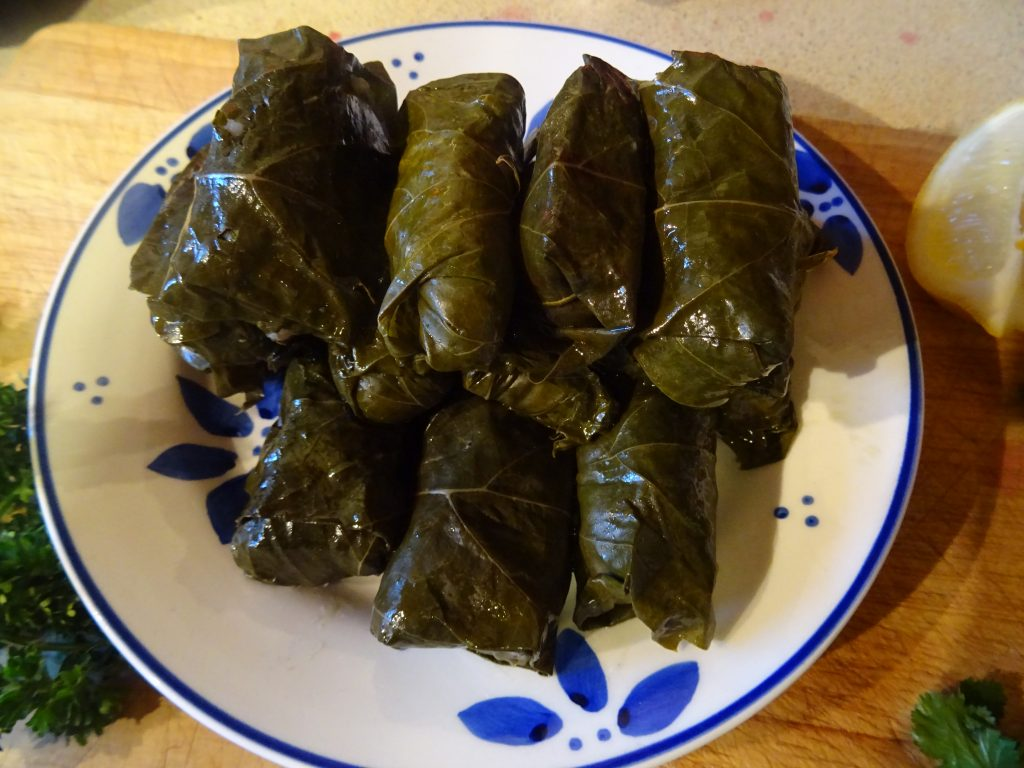 Vegan Stuffed Vine Leaves