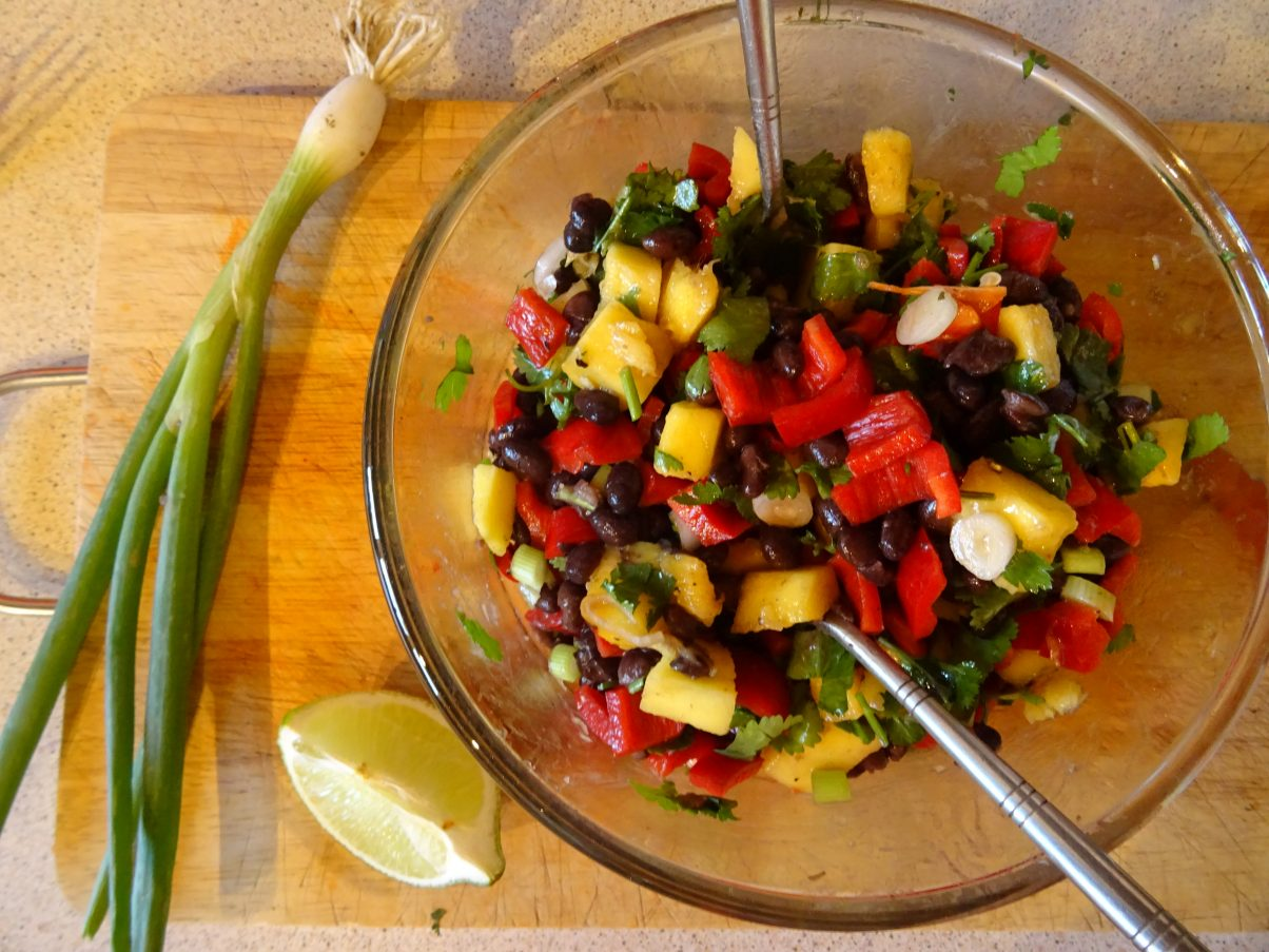 Vegan Black Bean and Mango Salad