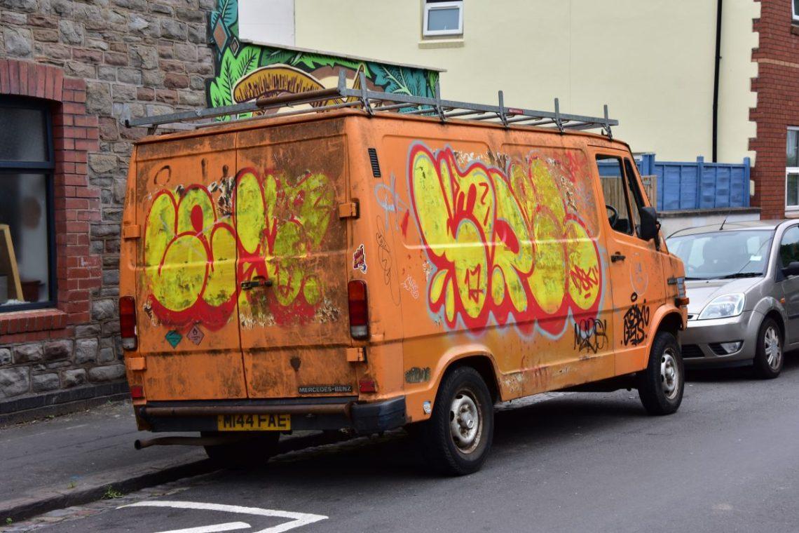 Vegan Junk Food, Underground Exploration and World Class Graffiti - a Trip to Bristol and Somerset pt. 2