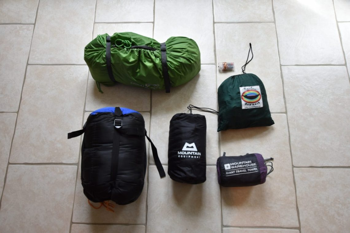 Our England to India Bike Touring Packing List