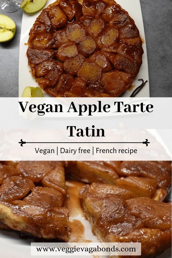 Vegan Apple Tarte Tatin