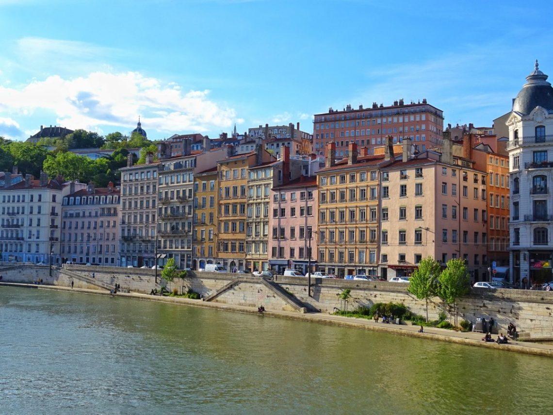 Lyon, on the banks of the Saône