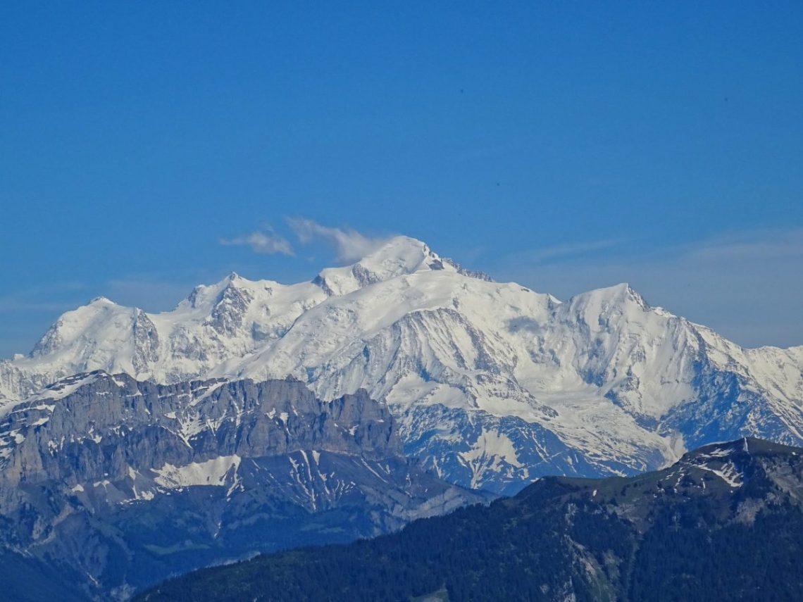 Mont Blanc France hiking