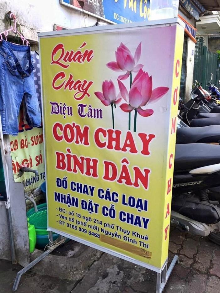 Vegan in Vietnam