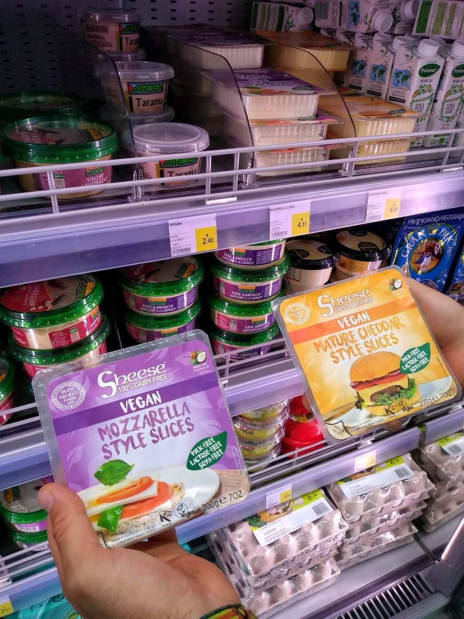 Vegan Food France Cheese