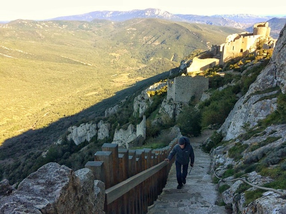 The Cathar Way Hiking Trail in France