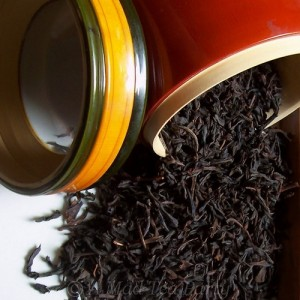 Raisins black tea