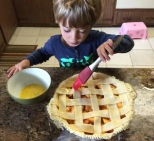 painting pie
